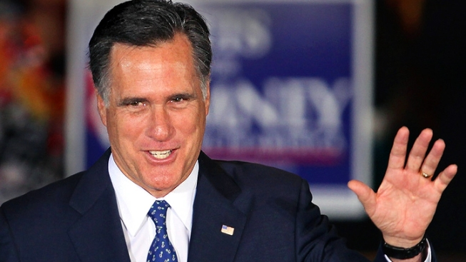 Mitt Romney Holds Bay Area Fundraiser