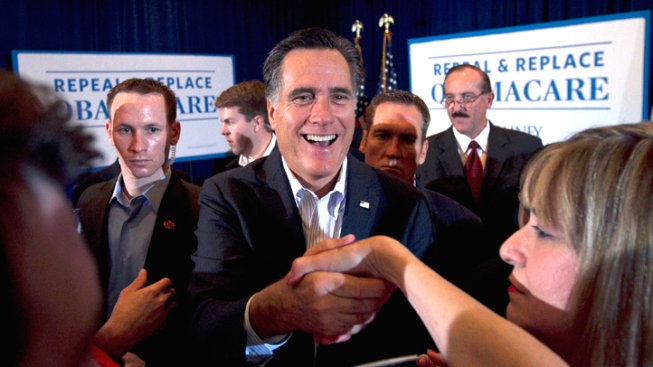 Mitt Romney Leading in California: New Poll