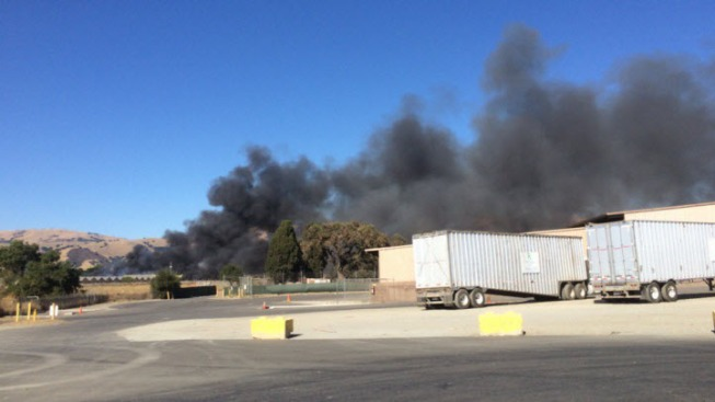 RV Catches Fire, Spreads to Brush South of Morgan Hill: Cal Fire
