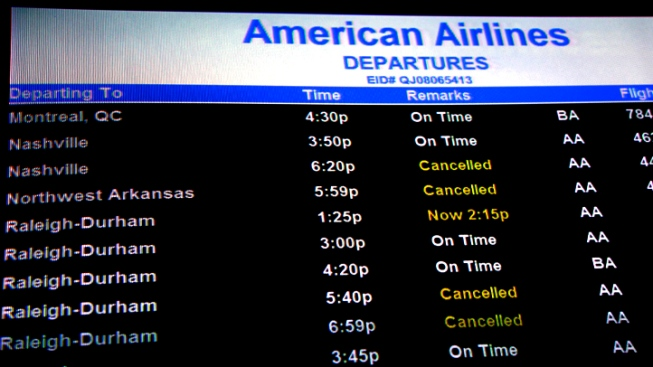 Hurricane Sandy Stymies Bay Area Air Travel