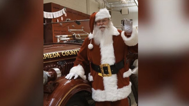 Alameda County Fire Department to Host 'Santa at the Fire House'
