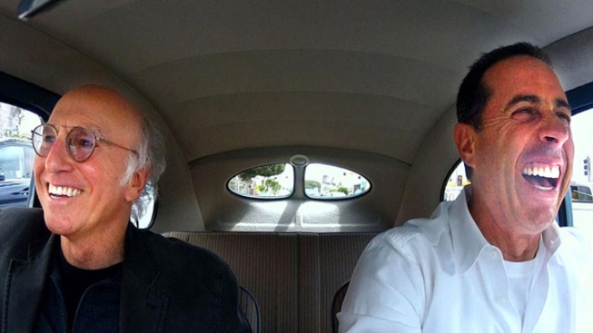 """Seinfeld's New Season of """"Comedians in Cars Getting Coffee"""" Takes Off"""