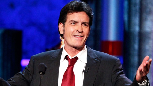 "Charlie Sheen Talks to Jay Leno About Lindsay Lohan's Tardiness on ""Anger Management"""
