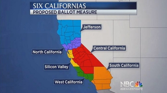 """Six Californias,"" Ballot Initiative to Split up the Golden State, Falls Short on Signatures"