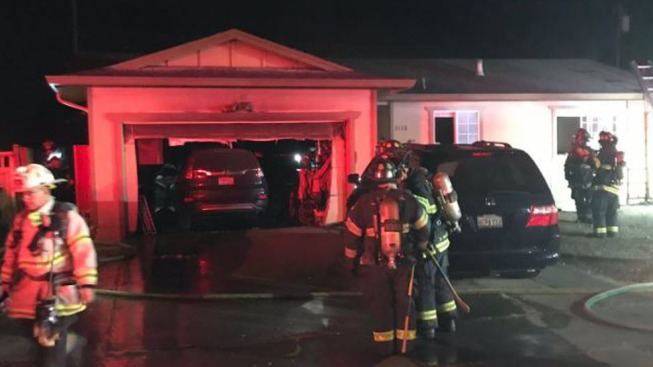 Family Displaced Following Fire in San Jose Home