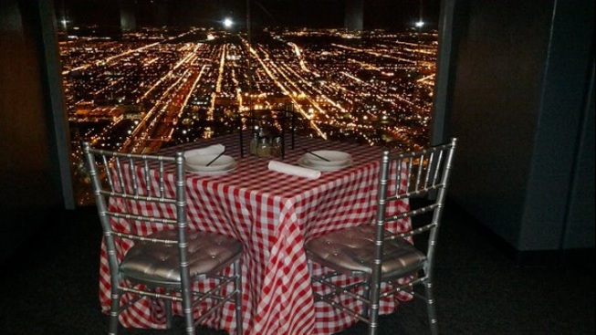 Chicago's Willis Tower Now Offers Pie in the Sky