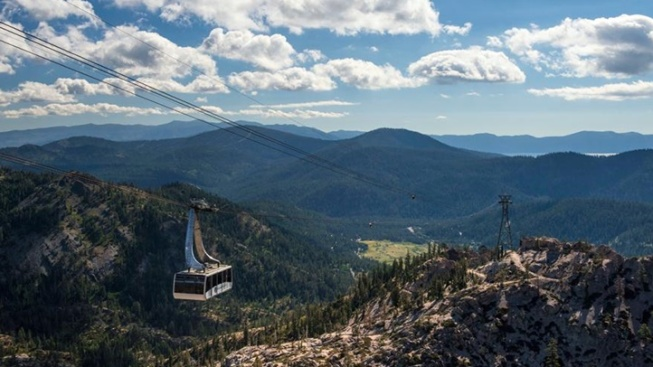 Aerial Tram Ride: Above Squaw Valley