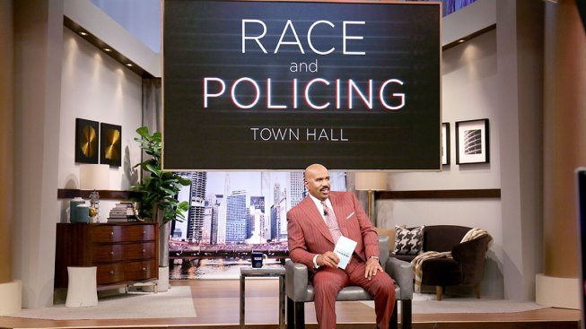 Steve Harvey to Host Town Hall Episode on Race Relations