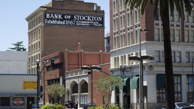Stockton, Calif. Biggest U.S. City to Enter Bankruptcy