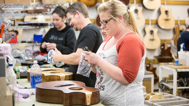 Taylor Guitar Factory: Tours and Toy Donations