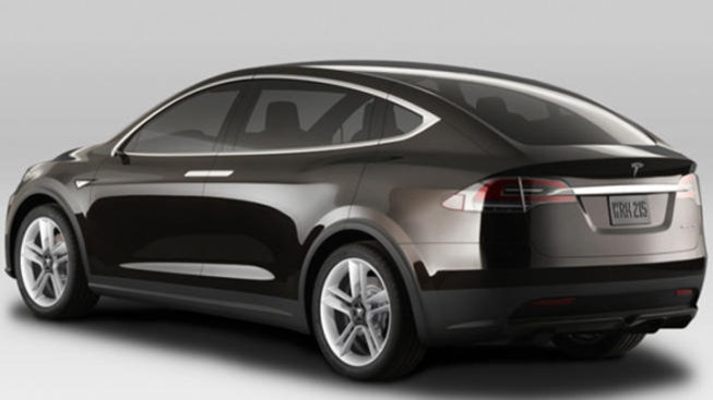 Tesla Model X Offers iPad Style, Back to the Future Doors