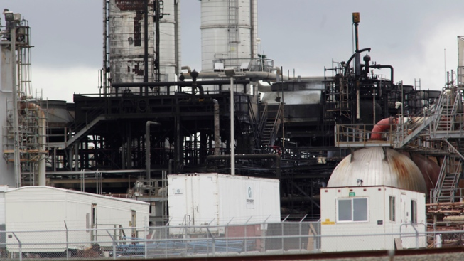 Sulfuric Acid Spill at Tesoro Refinery in Martinez