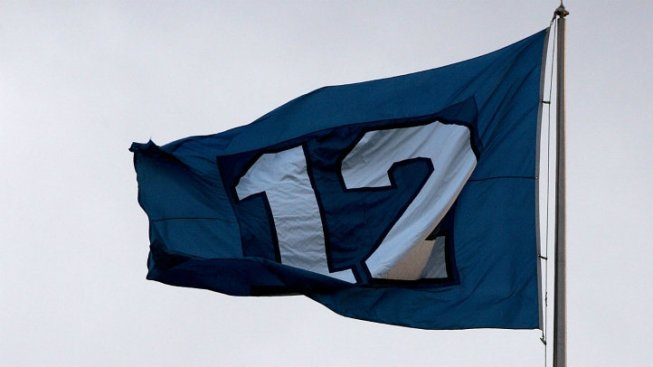 Seattle Seahawks 12th Man Flag to Torment 49ers Fans