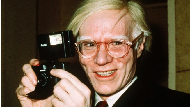 Warhol's Gravesite Goes Live Online
