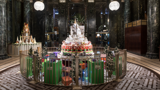 Westin St. Francis: Castles Made of Sugar