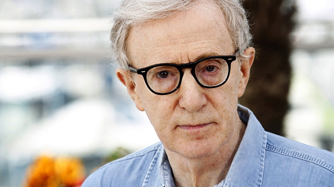 Woody Allen Working on Film in San Francisco