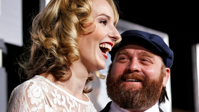 Did Zach Galifianakis Get Married Over the Weekend?