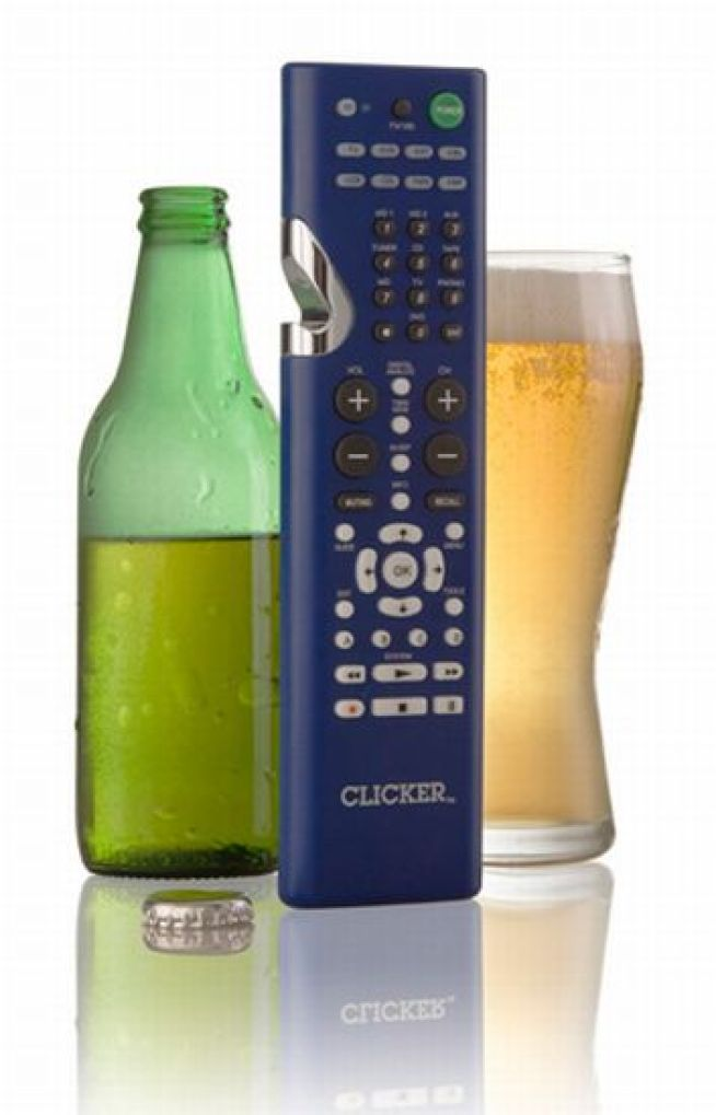 Bottle Opener Remote Is Perfect for Couch Potato Beer Snobs