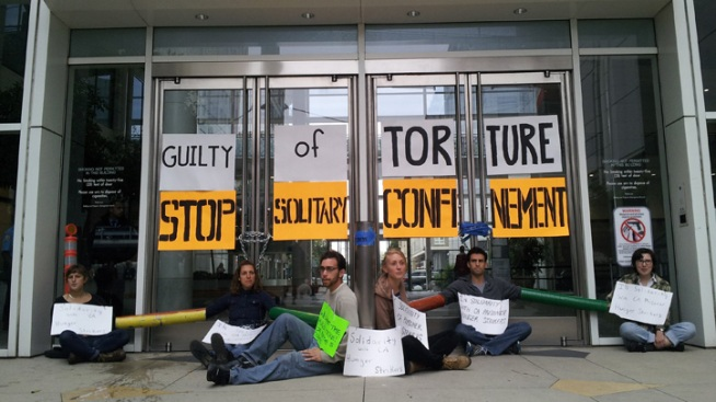 7 Arrested at Oakland Demonstration Supporting Prison Hunger Strike