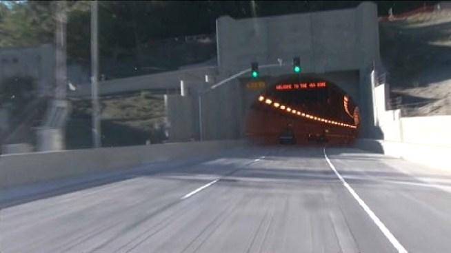 Caldecott Tunnel's Fourth Bore Closing Friday Night