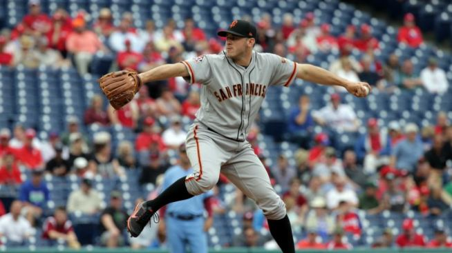 Giants Swept by Phillies in Four-Game Series for First Time in 36 Years