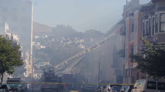 SFFD Fights 2-Alarm Fire in Mission