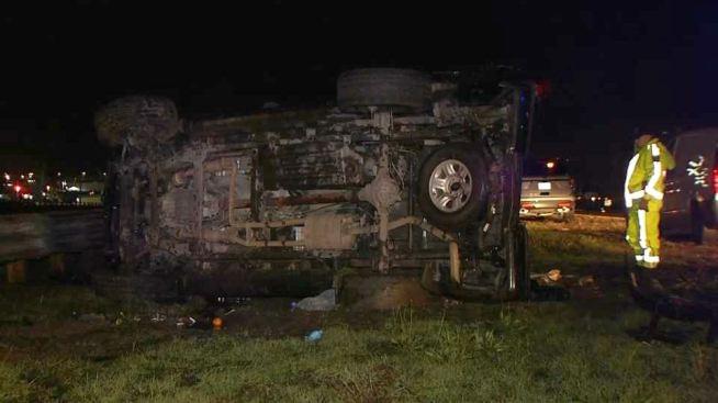 Morgan Hill Man Dies in Rollover Crash on Highway 101