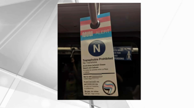 Muni Will Remove Unofficial Anti-Transphobia Signs From San Francisco Trains