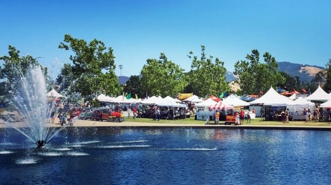 Free Entry: Walnut Creek Art & Wine Fest