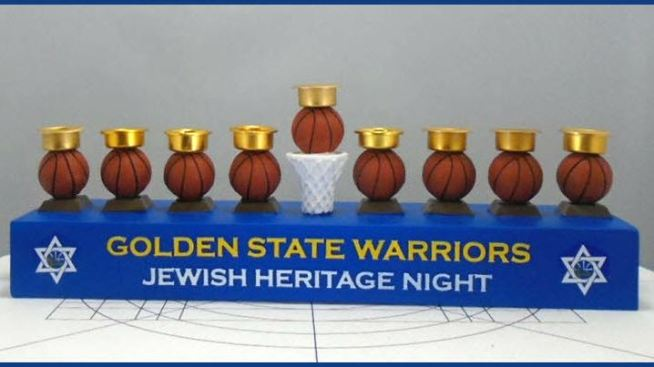 Nearly 2,000 Golden State Warriors Menorahs Recalled Due to Fire and Burn Hazards