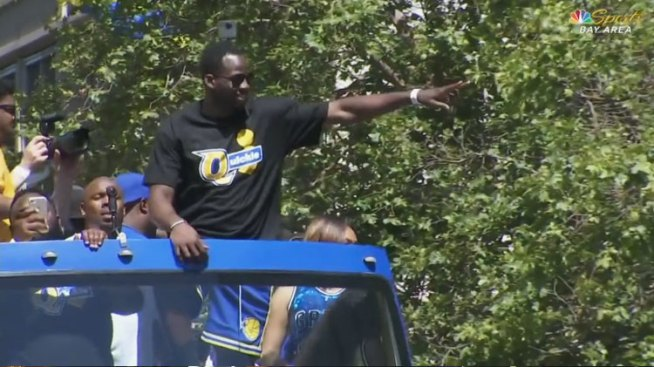 Draymond Trolls Cavs With 'Quickie' Shirt
