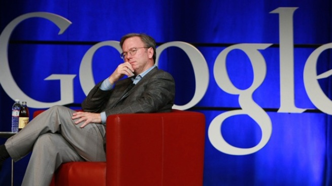 Priced Break: Google Chairman Eric Schmidt's $1.5 Billion Divorce