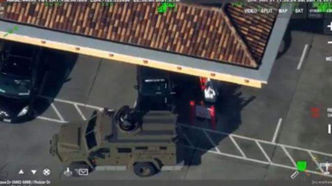 Novato Police Give Suspect Vape Pen to End 6-Hour Standoff