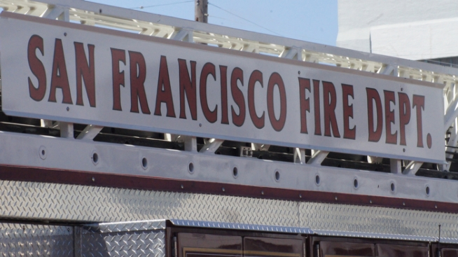 Firefighters Extinguish Noe Valley Fire