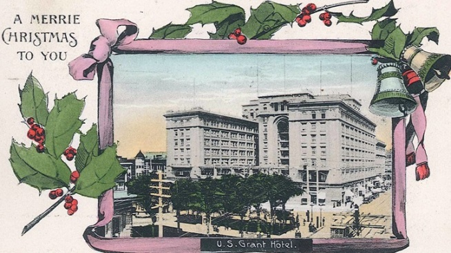 US Grant Hotel's Yule Charms