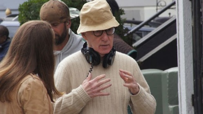 Woody Allen Filming in SF