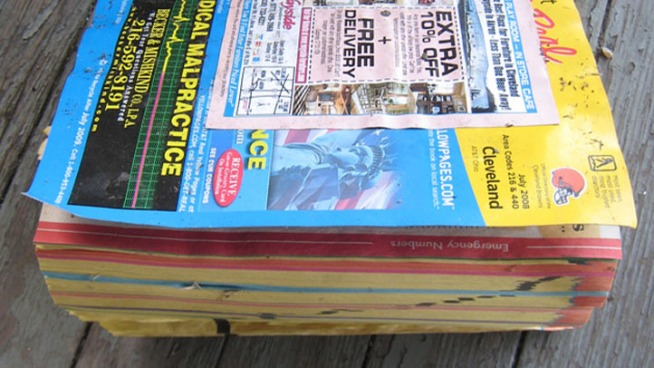 City Takes Another Look at Yellow Pages Ban
