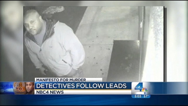 The LAPD has offered a $1 million reward for any information that may lead to the capture of murder suspect Christopher Dorner. Detectives have been receiving hundreds of tips about his whereabouts. Whit Johnson reports from downtown LA for the NBC4 News at 5 p.m. on Feb. 11, 2013.