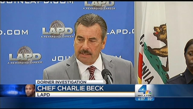 Before launching his alleged deadly revenge spree, fired LAPD Officer Christopher Dorner had accused the department of having an unfair review process. On Tuesday, Chief Charlie Beck said Dorner's death does not change the department's commitment to look into the process that led to the former fugitive's termination. Patrick Healy reports from Downtown LA for the NBC4 News at 6 p.m. on Feb. 19, 2013.
