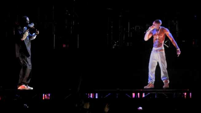 Tupac Hologram Performs at Coachella