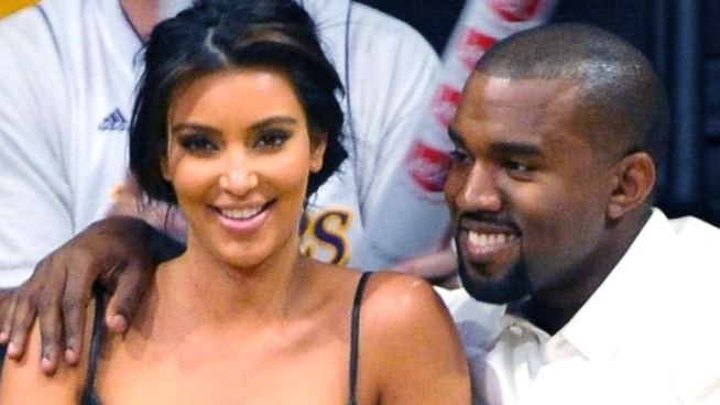 Kim Kardashian talks about her Laker game date with Kanye West, and whether fans will spot her new beau in the upcoming season of