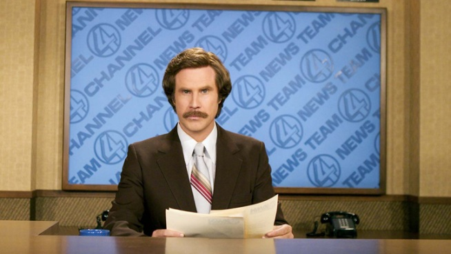"Will Ferrell Announces ""Anchorman"" Sequel"