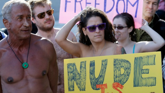 SF Judge Weighs Blocking Nudity Ban