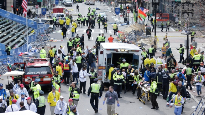 Boston Marathon Honored Sandy Hook Victims