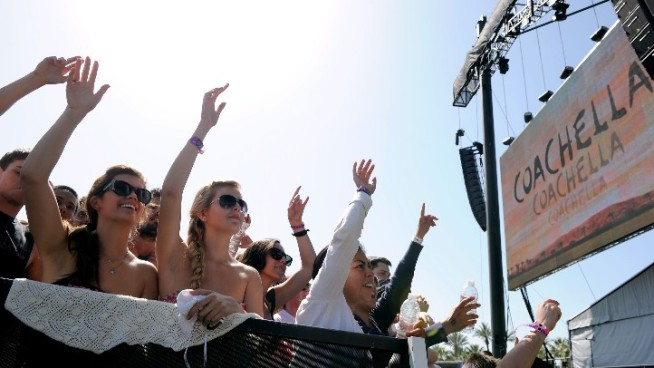 Celebs Crazy About Coachella