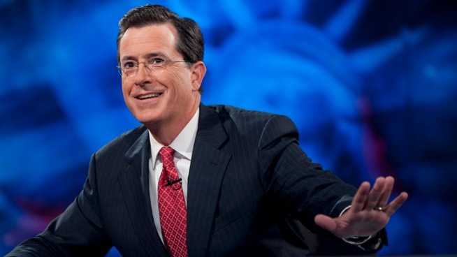 Colbert Cheers on GOP Slugfest's Negative Turn