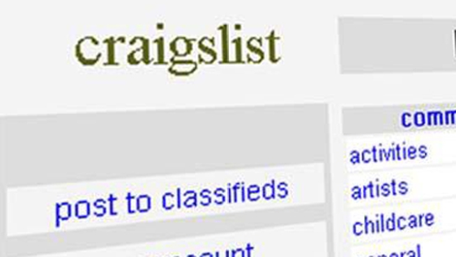 Robbers Use Craigslist to Lure Victims