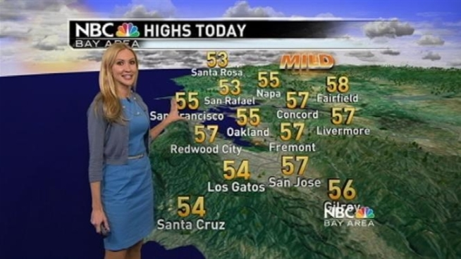 Meteorologist Christina Loren has your Bay Area forecast.