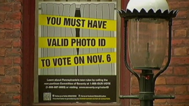 Photo Voter ID is Important! From http://media.nbcbayarea.com -