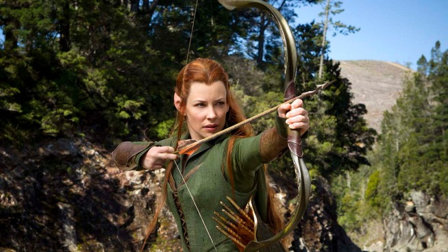 """Evangeline Lilly Is Back in """"The Hobbit"""" 